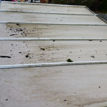Before Conservatory Roof Cleaning